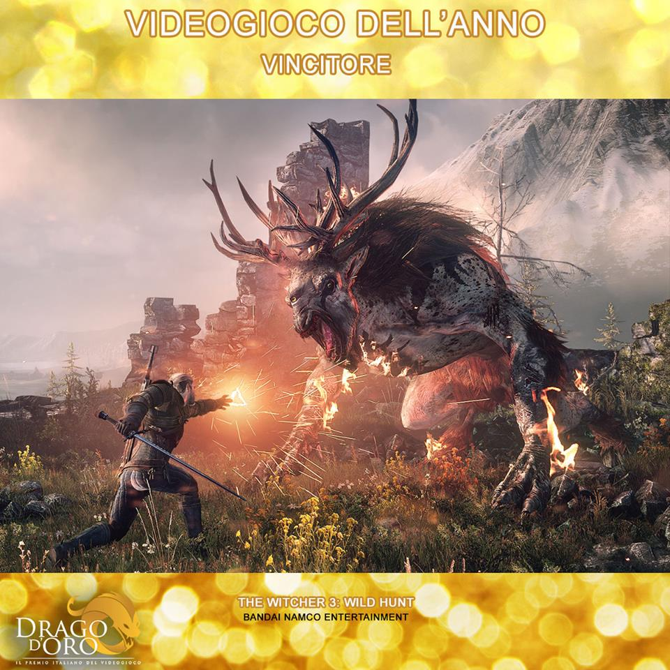 Drago d'Oro The Witcher 3