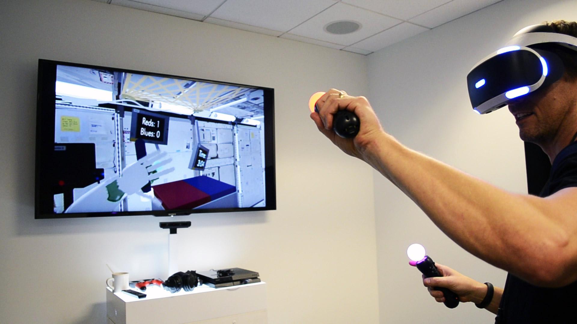 PlayStation VR + Move
