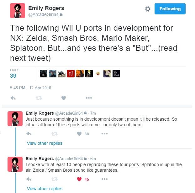 NX rumor remasterd