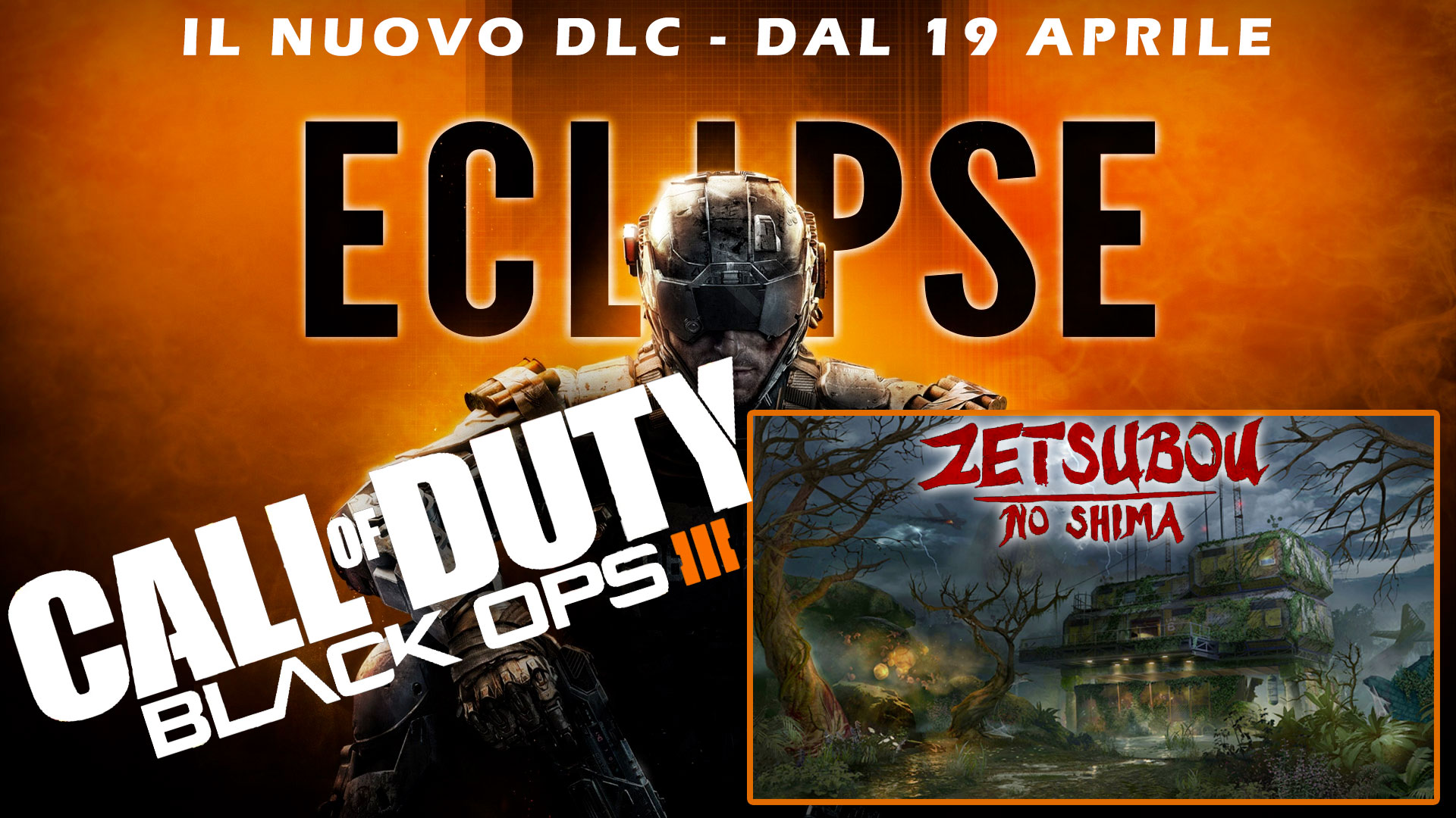 Call of Duty - black ops III DLC Eclipse - Zetsobou No Shima