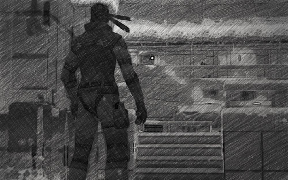 Snake racconta Metal Gear Solid - Eliporto