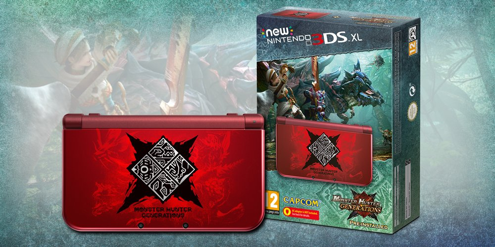 Monster hunter Generations 3DS XL Nintendo