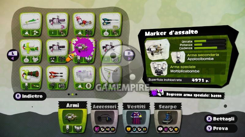 Splatoon Wii U Maker Assalto