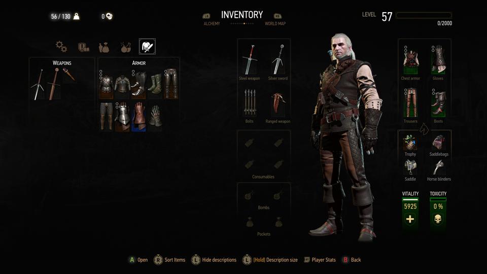 Witcher  Mantikor Build