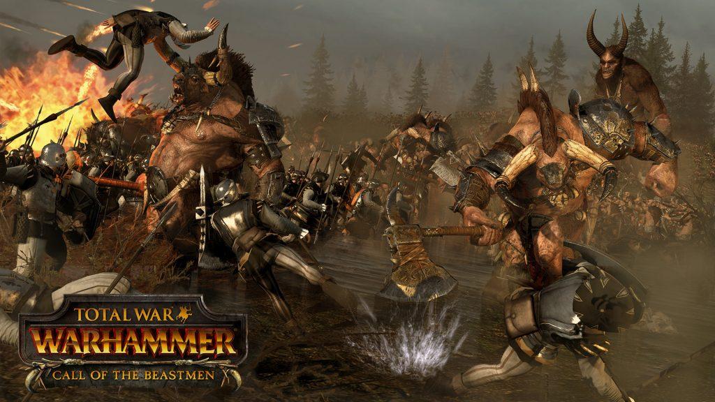 Call of Beastmen total war warhammer