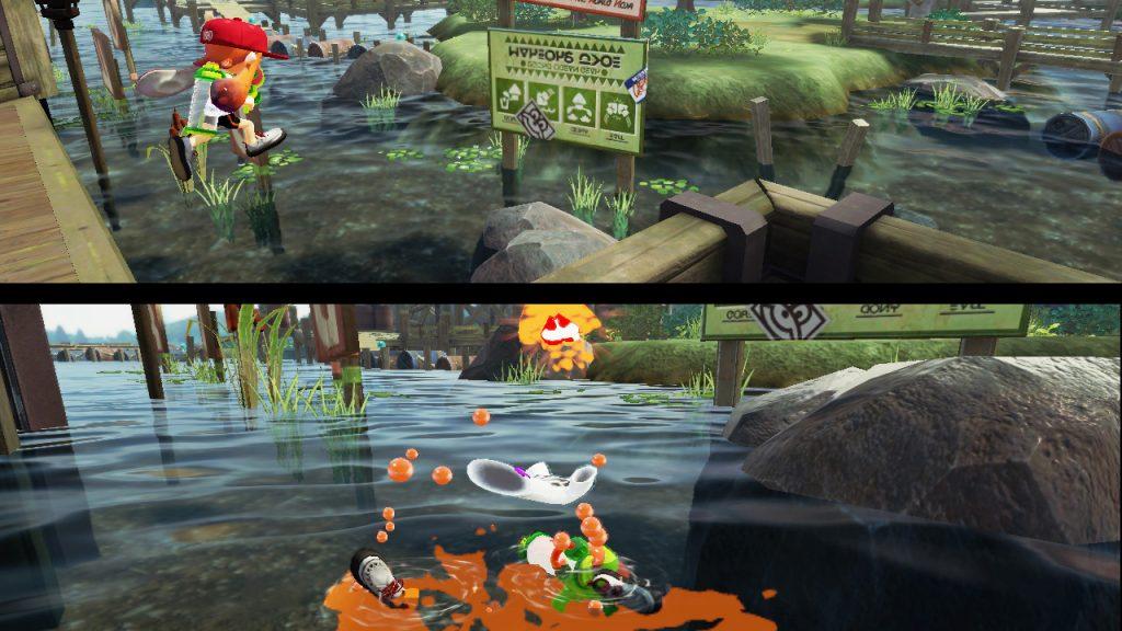 Un calamaro che muore annegato. Che ironia.