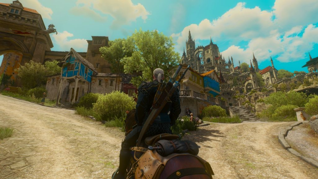 The Witcher 3 easter egg