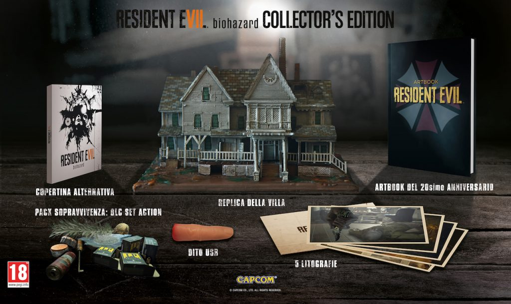 resident-evil-7 collector's edition