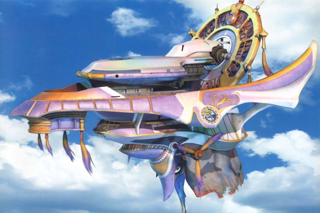 Final Fantasy X Aeronave