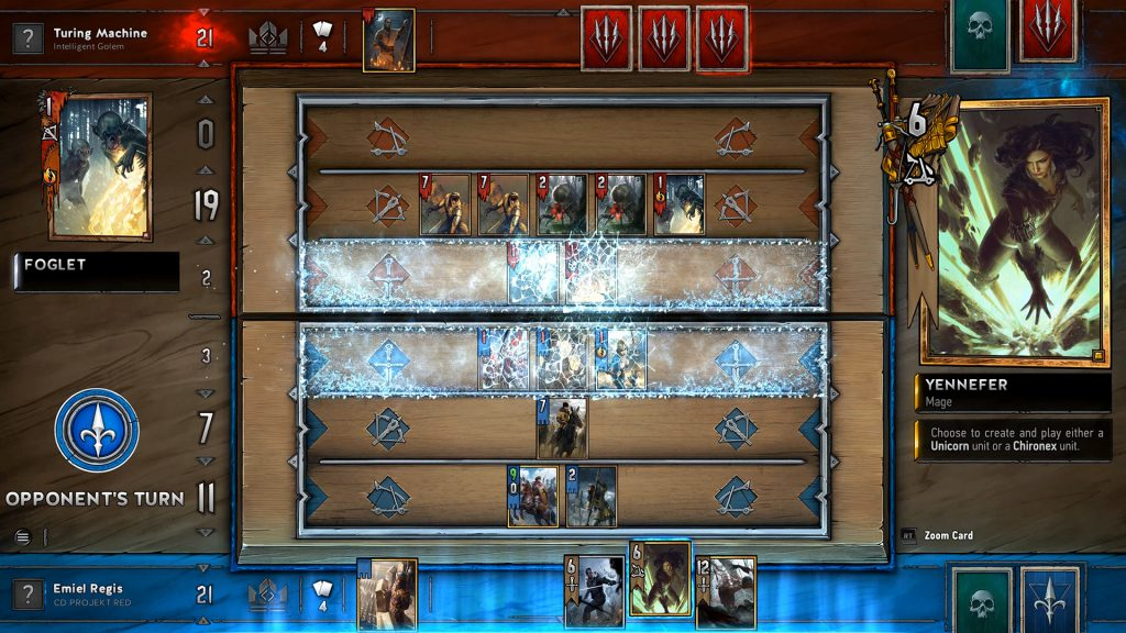 Gwent The Witcher Card Game Closed Beta 002 Gamempire