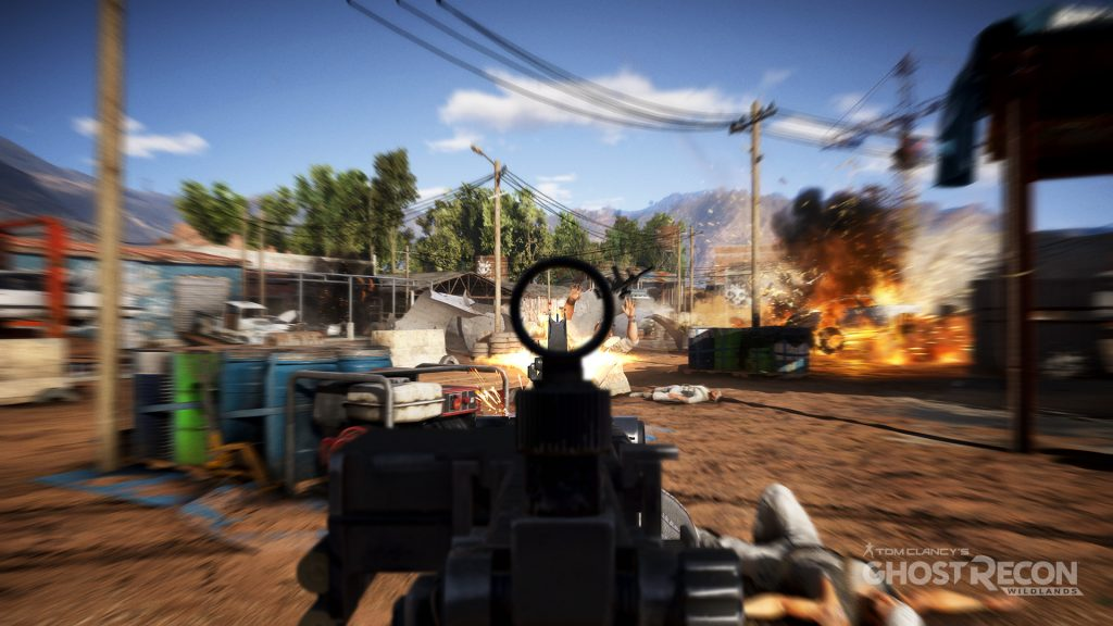 Tom Clancys Ghost Recon Wirldlands gameplay Gamempire