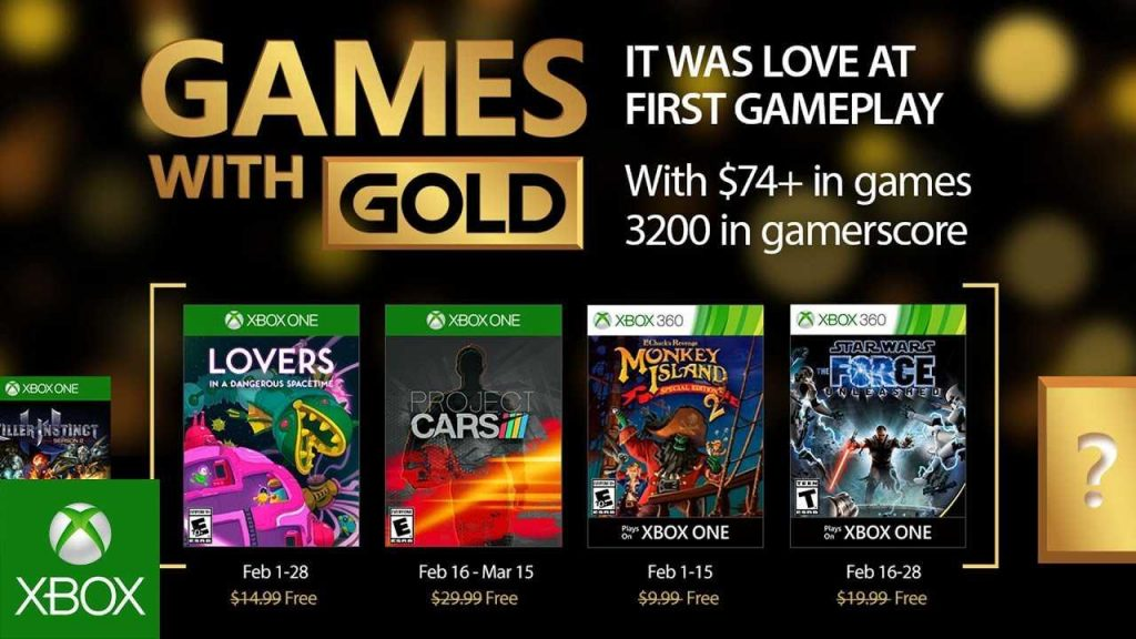Games With Gold Febbraio 2017 Gamempire