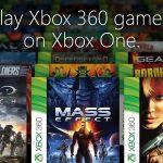 Come funziona la retrocompatibilità su Xbox One?