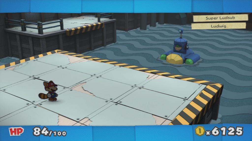 Paper Mario Colour Splash Nintendo Wii U Ludwig sottomarino Gamempire