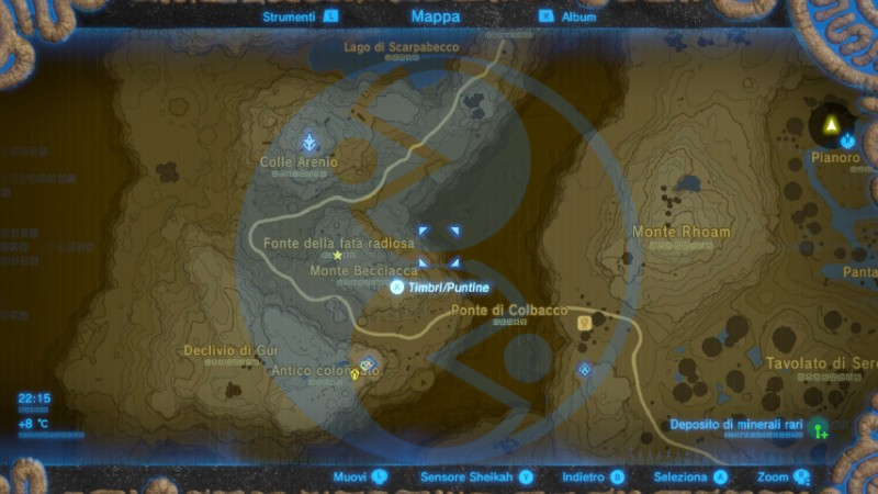 Zelda Breath of the Wild Fata radiosa Kaysa mappa Nintendo Wii U Switch Gamempire