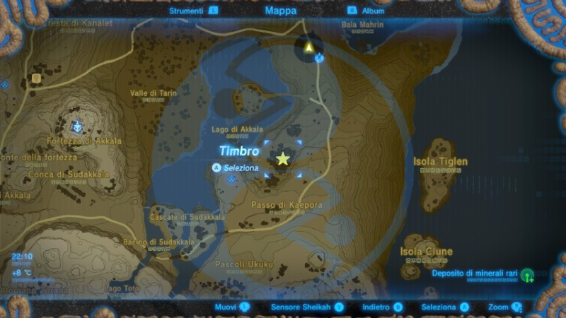 Zelda Breath of the Wild Fata radiosa Mjia mappa Nintendo Wii U Switch Gamempire