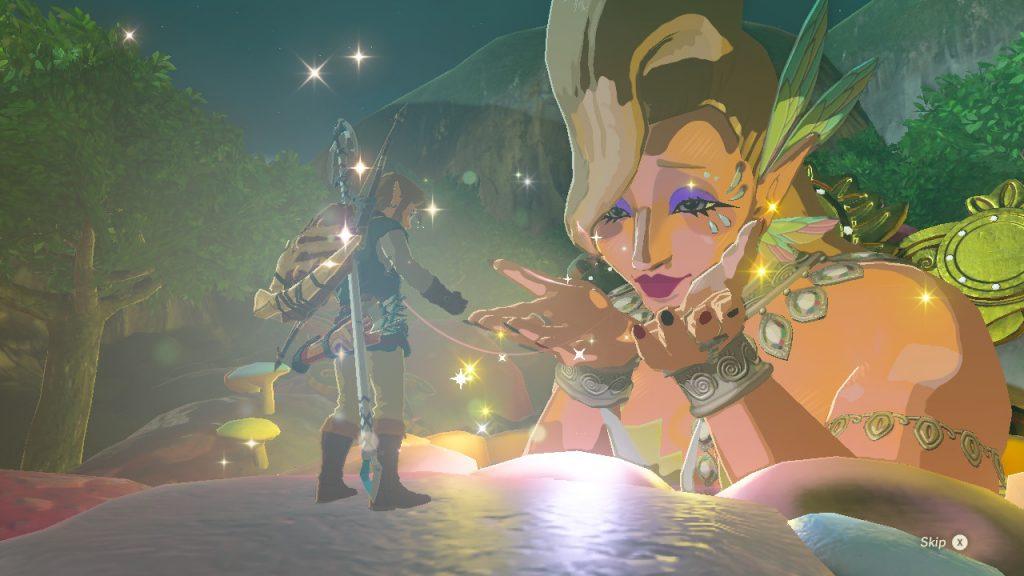 Zelda Breath of the Wild Fata radiosa Nintendo Wii U Switch Gamempire