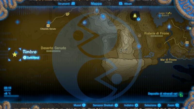Zelda Breath of the Wild Fata radiosa Tera mappa Nintendo Wii U Switch Gamempire