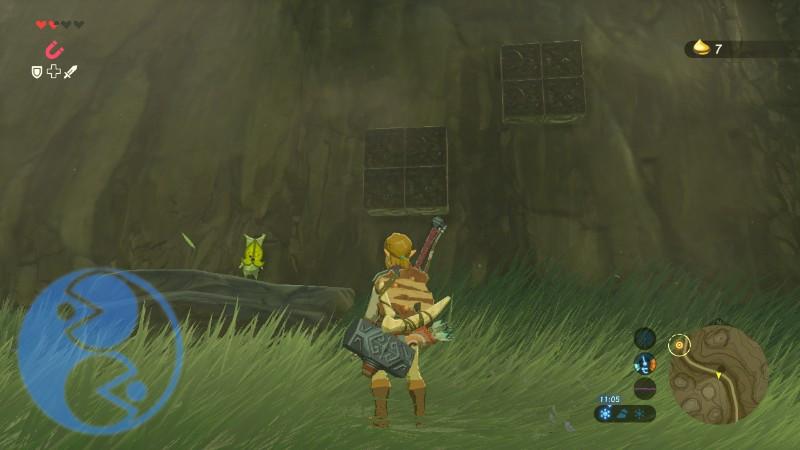 Zelda Breath of the Wild Korogu verso villagio Calbarico Gamempire