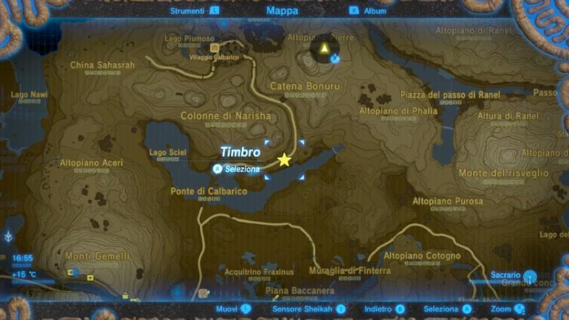 Zelda Breath of the Wild ampliare inventario Castonne korogu mappa Gamempire