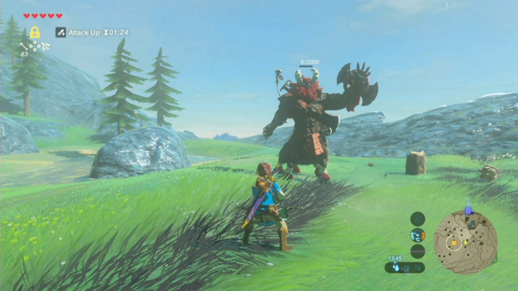 Zelda Breath of the Wild gambali Zora Lynel Nintendo Switch Wii U Gamempire
