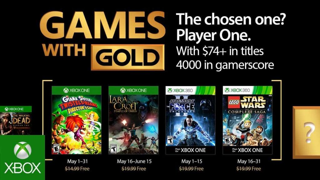 Games With Gold Maggio 2017 - Gamempire