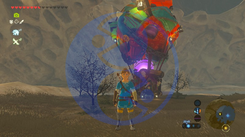 Zelda Breath of the Wild minisfida Tipo Sospetto Kilton Akkala 02 Nintendo Wii U Switch Gamempire