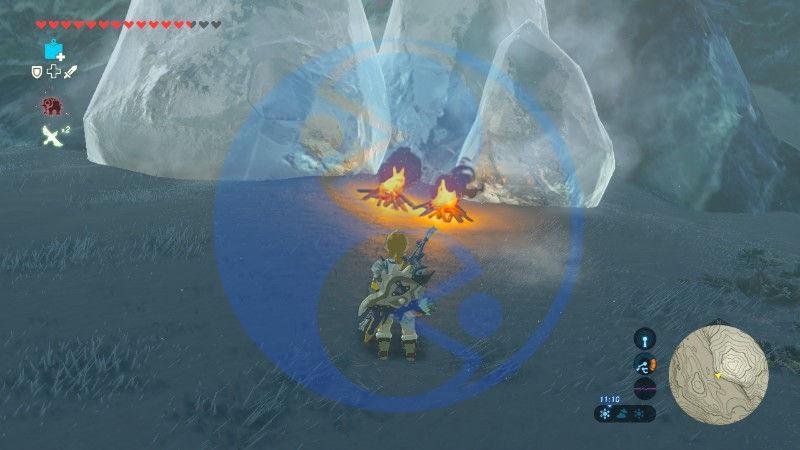Zelda Breath of the Wild sacrario Gaoma Asa 01 Nintendo Wii U Switch Gamempire