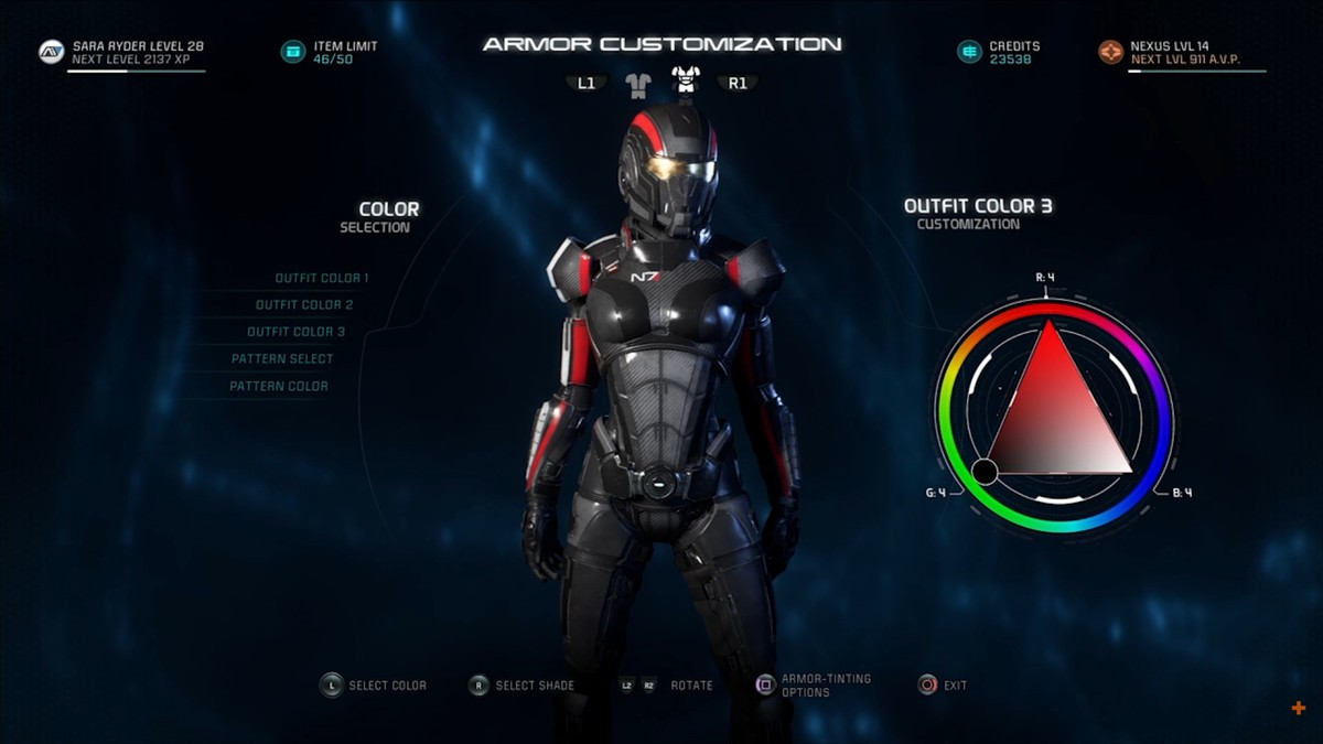N7 Armor Mass Effect Andromeda: Mass Effect Andromeda PlayStation 4 Gamempire • Gamempire.it