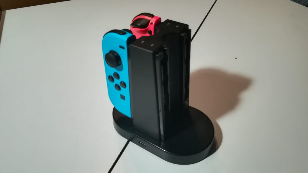 Venom Charging Station per Nintendo Switch