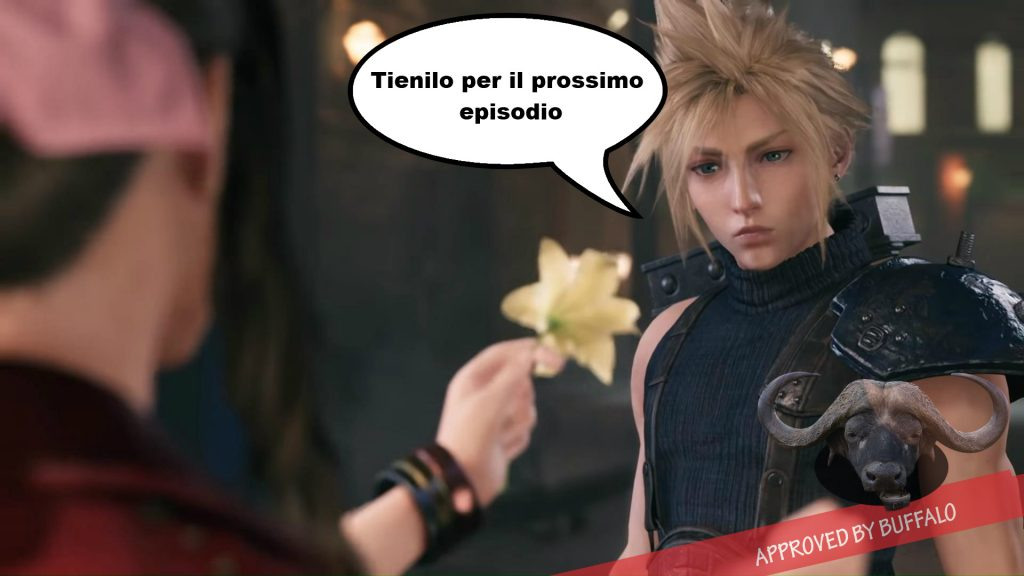 Scena Final Fantasy VII Remake