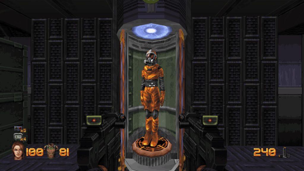 Ion Fury hazmat suit