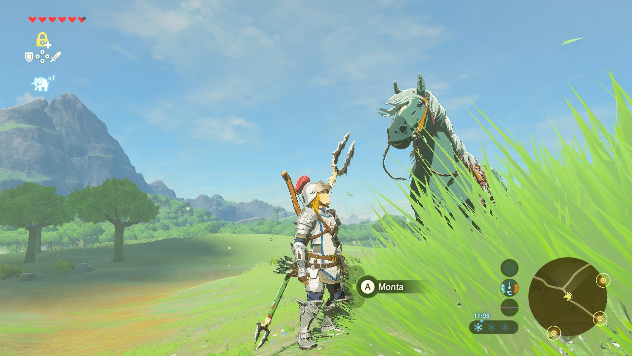 The Legend of Zelda Breath of the Wild - Cavallo