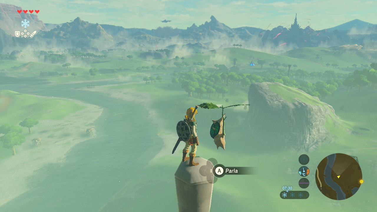 The Legend of Zelda Breath of the Wild - Seme Korok