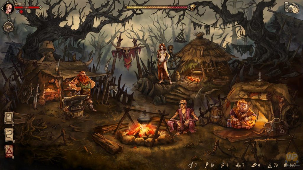 Recensione - Deck of Ashes - Camp