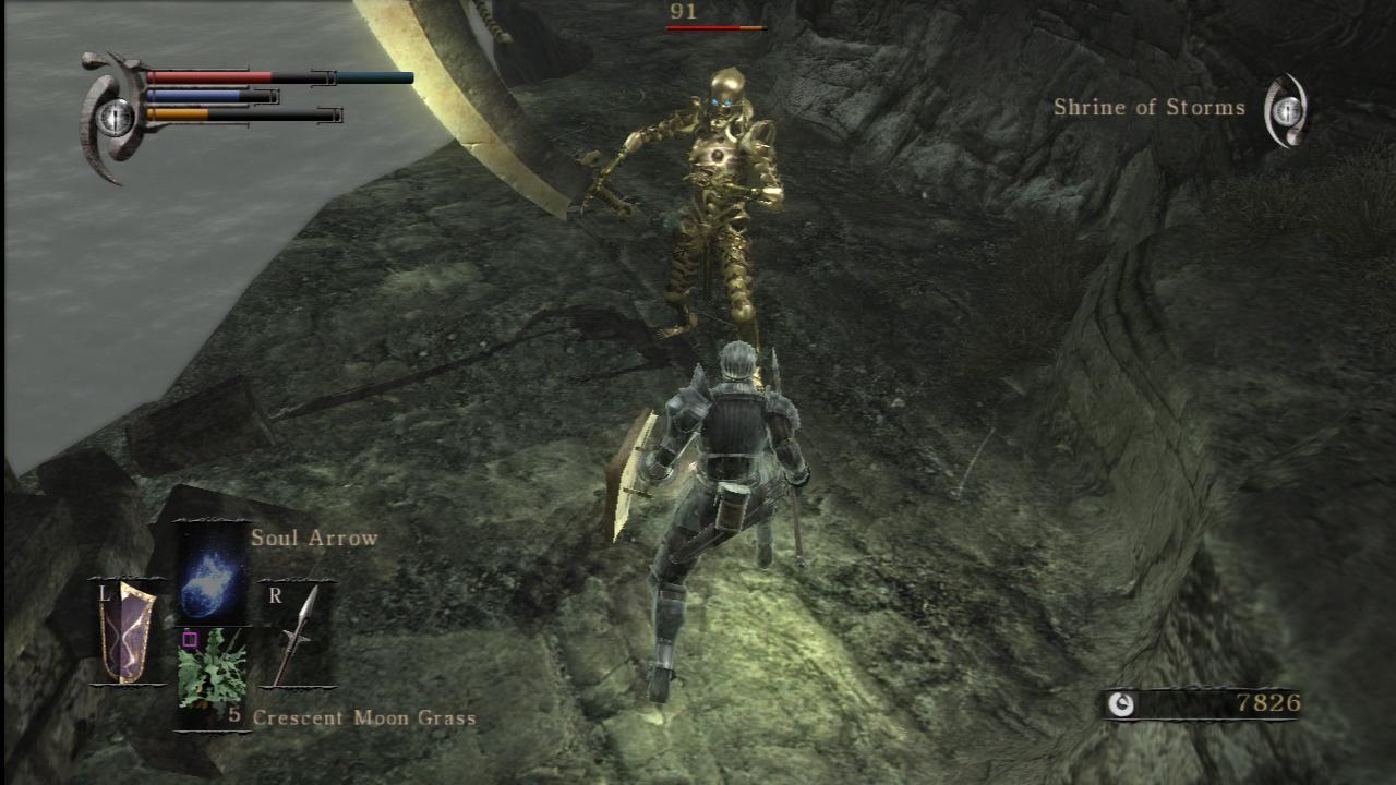 Demon's Souls - Combat System