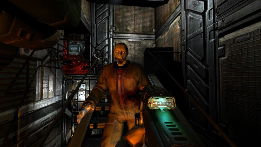 Doom 3 BFG Edition - zombie